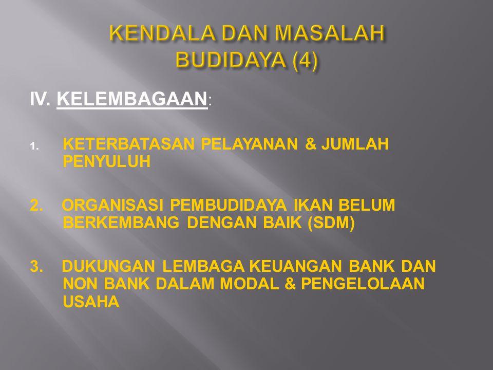 KENDALA DAN MASALAH BUDIDAYA (4)