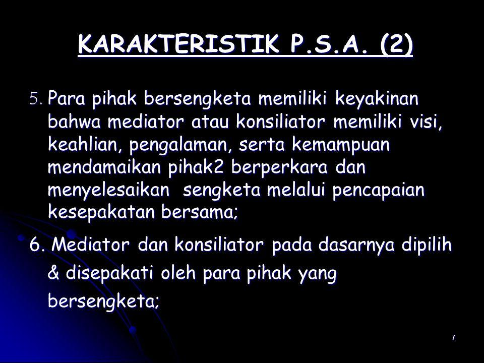 KARAKTERISTIK P.S.A. (2)