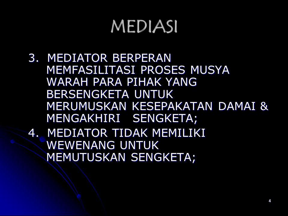 MEDIASI
