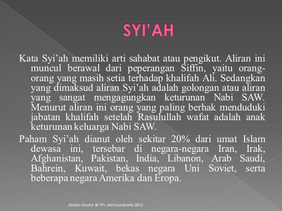 SYI'AH