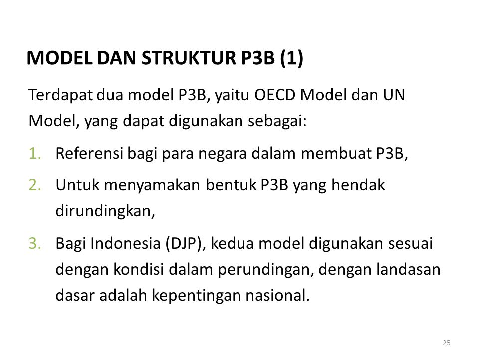 MODEL DAN STRUKTUR P3B (1)