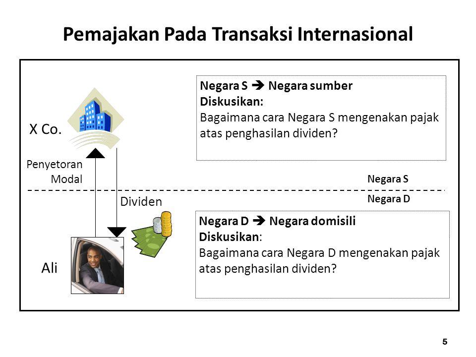 Pemajakan Pada Transaksi Internasional