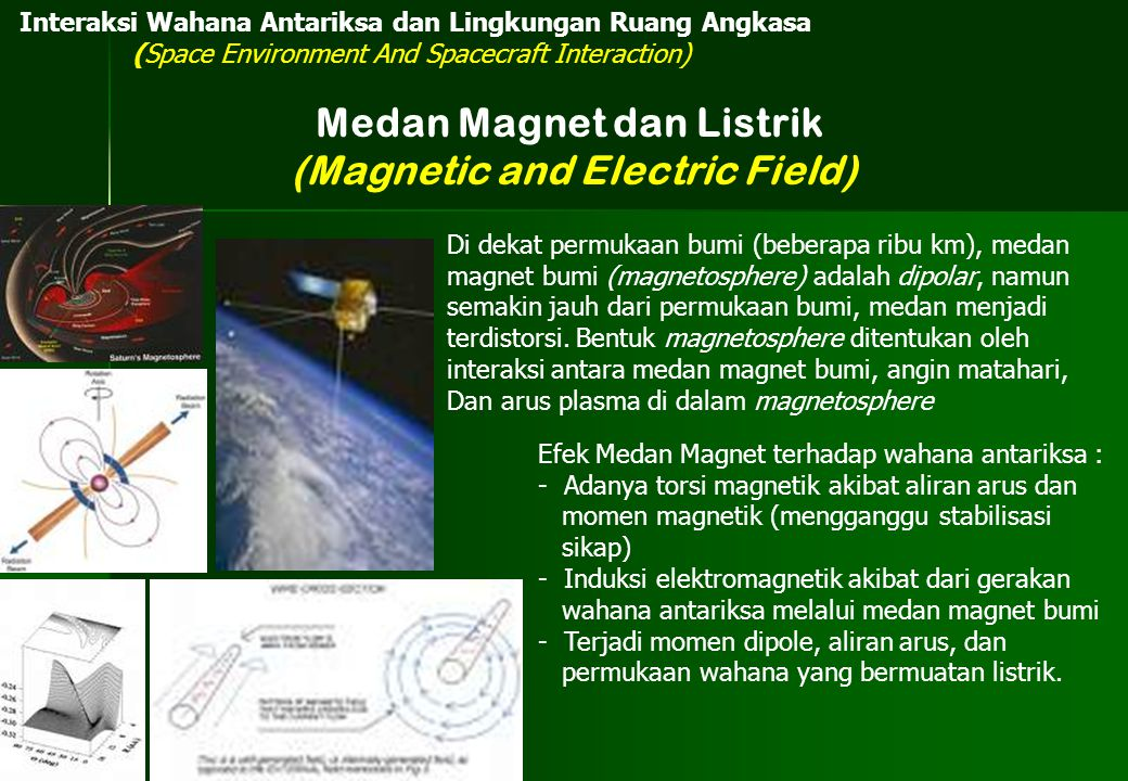 Medan Magnet dan Listrik (Magnetic and Electric Field)