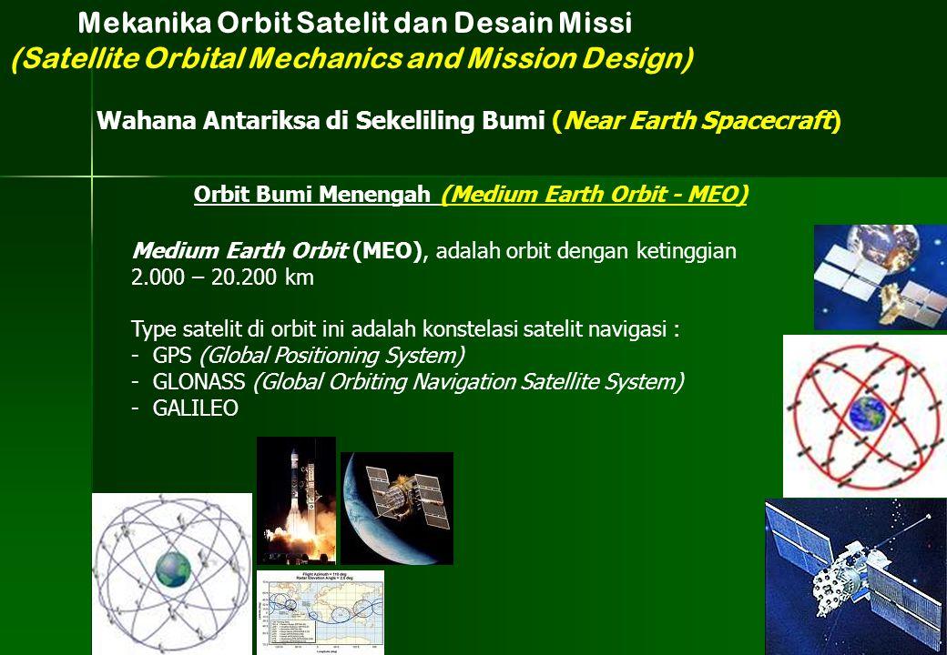 Mekanika Orbit Satelit dan Desain Missi