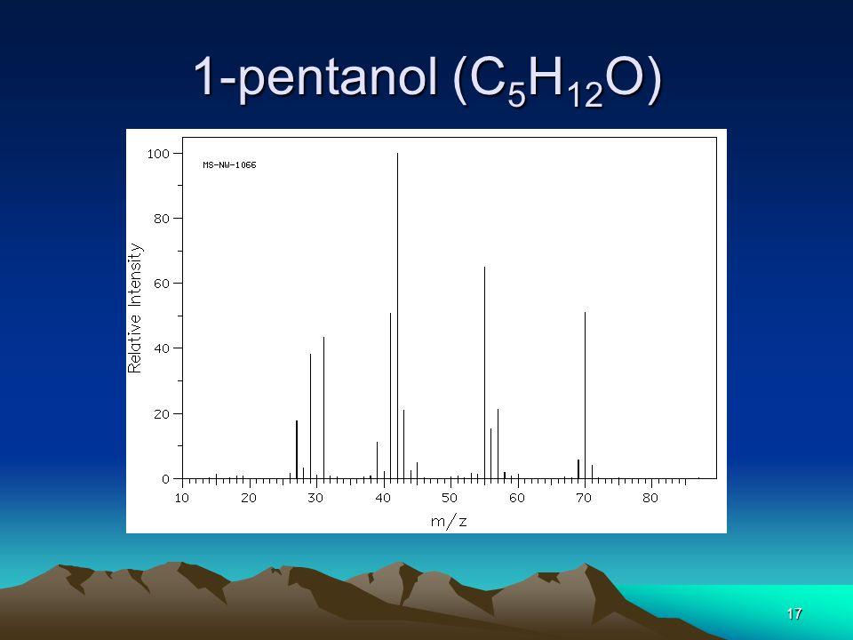 1-pentanol (C5H12O)