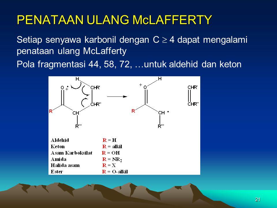 PENATAAN ULANG McLAFFERTY