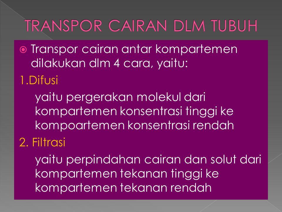 TRANSPOR CAIRAN DLM TUBUH