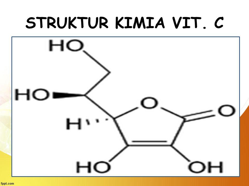 STRUKTUR KIMIA VIT. C