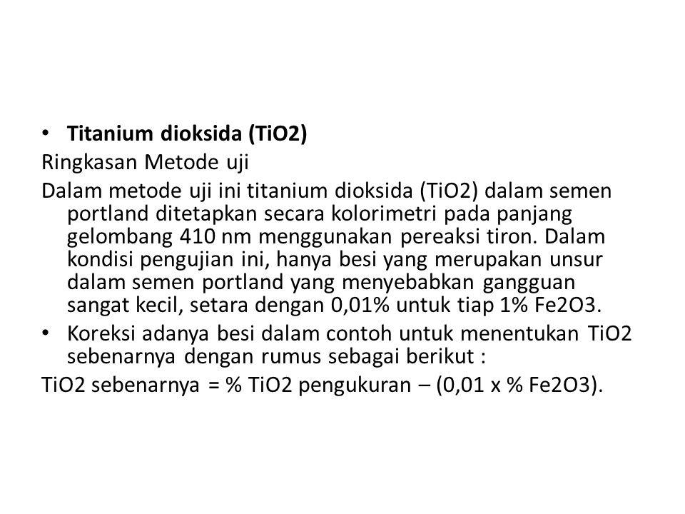 Titanium dioksida (TiO2)