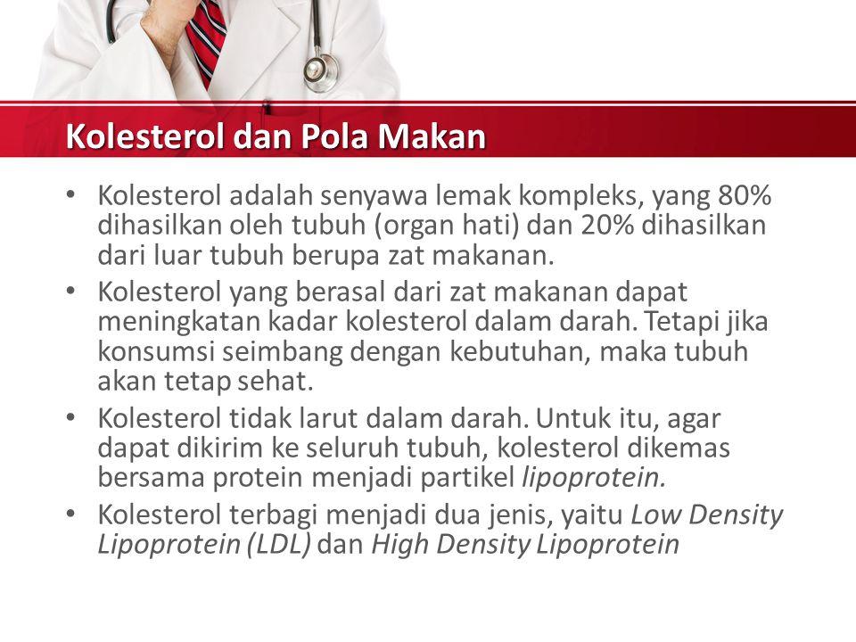 Kolesterol dan Pola Makan