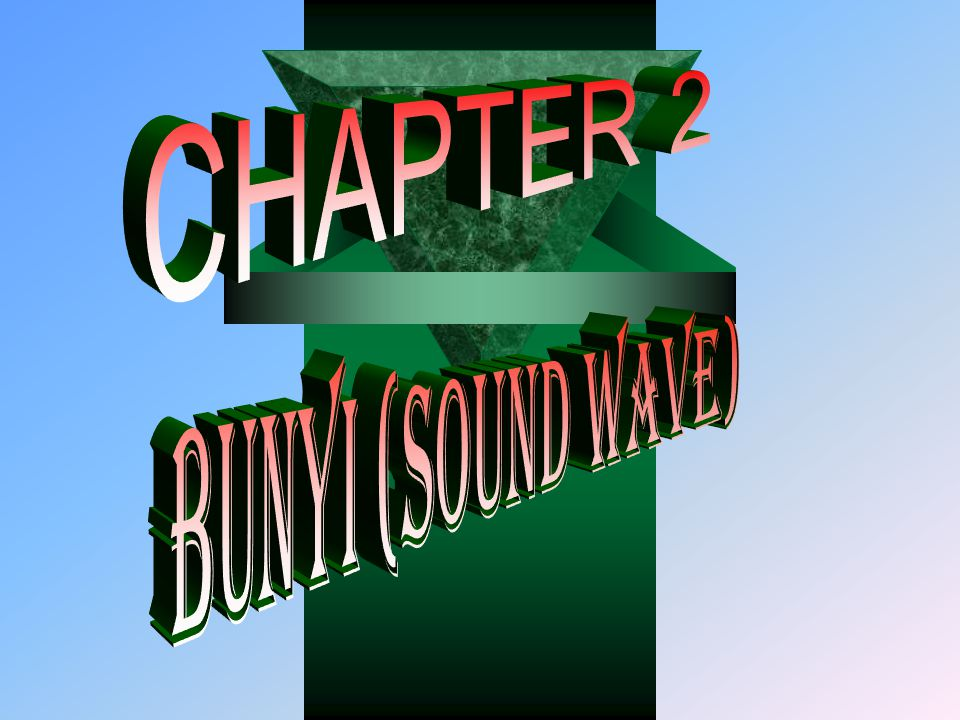 CHAPTER 2 BUNYI (SOUND WAVE)