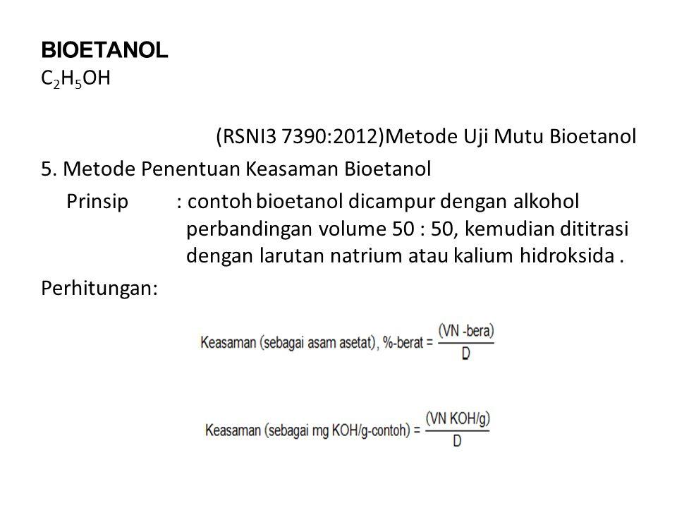 BIOETANOL C2H5OH