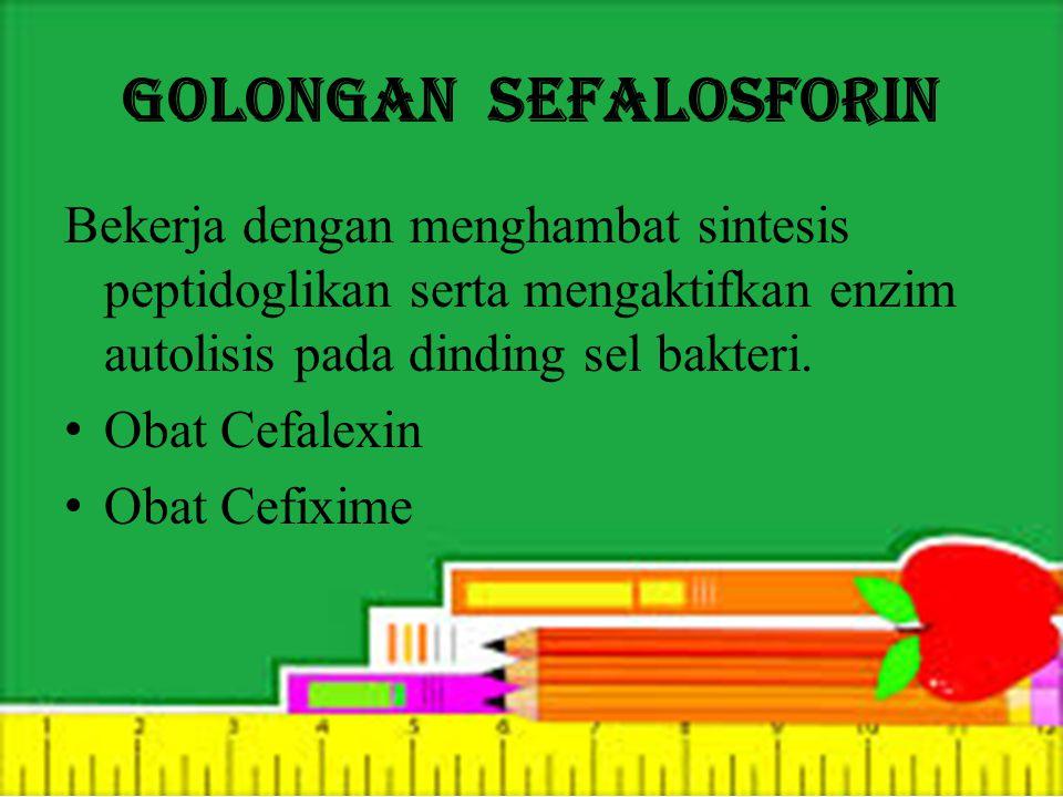 Golongan Sefalosforin