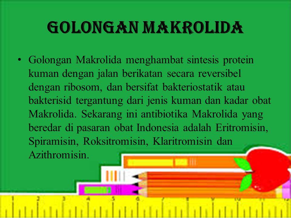 Golongan Makrolida