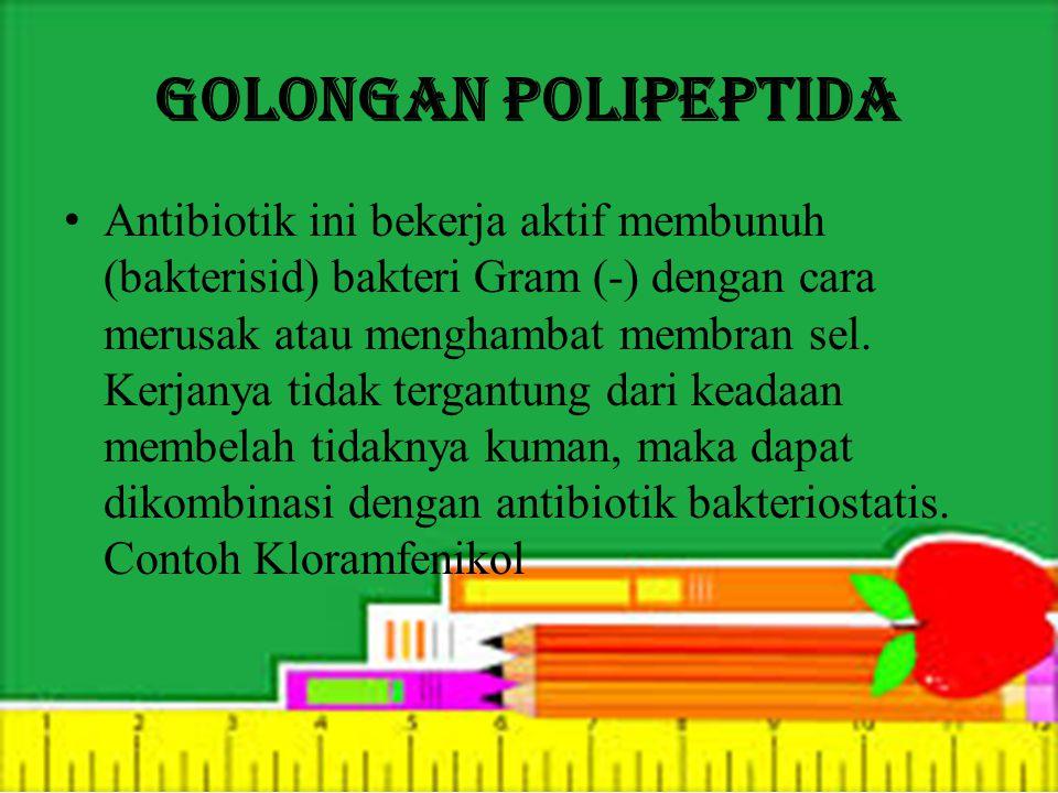 Golongan Polipeptida