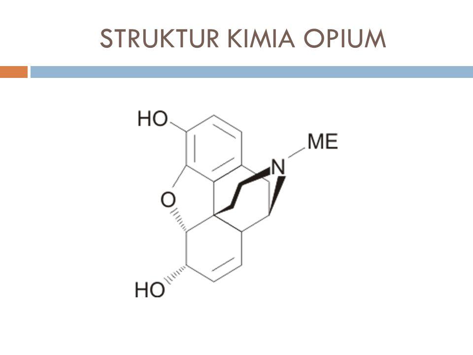 STRUKTUR KIMIA OPIUM