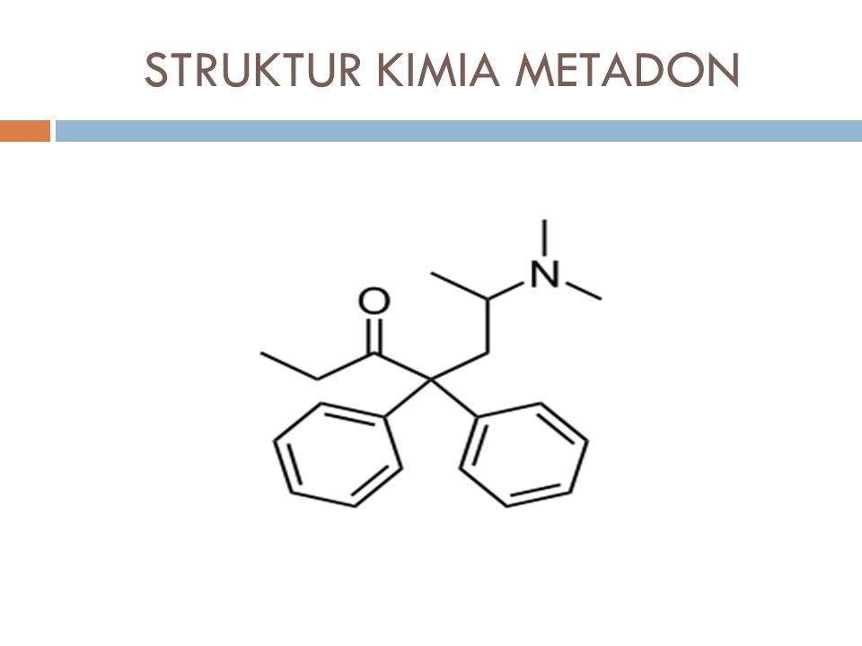 STRUKTUR KIMIA METADON