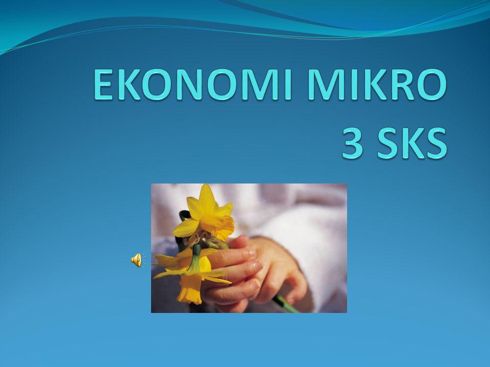 EKONOMI MIKRO 3 SKS