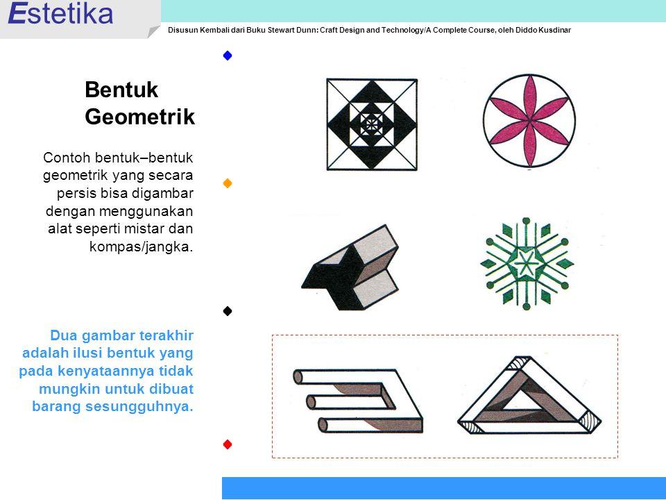 Estetika Bentuk Geometrik