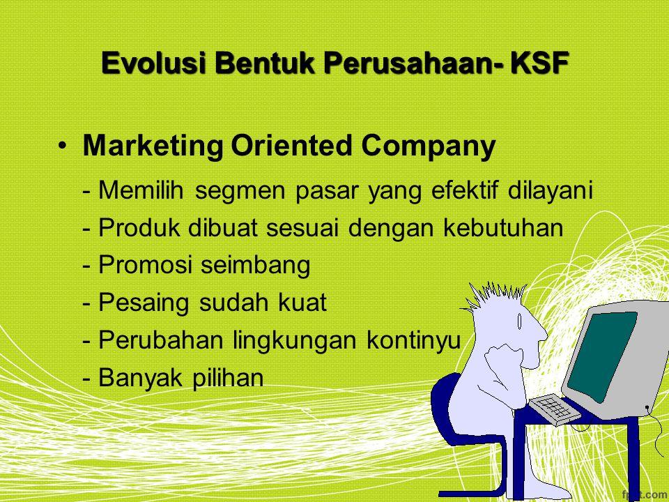 Evolusi Bentuk Perusahaan- KSF