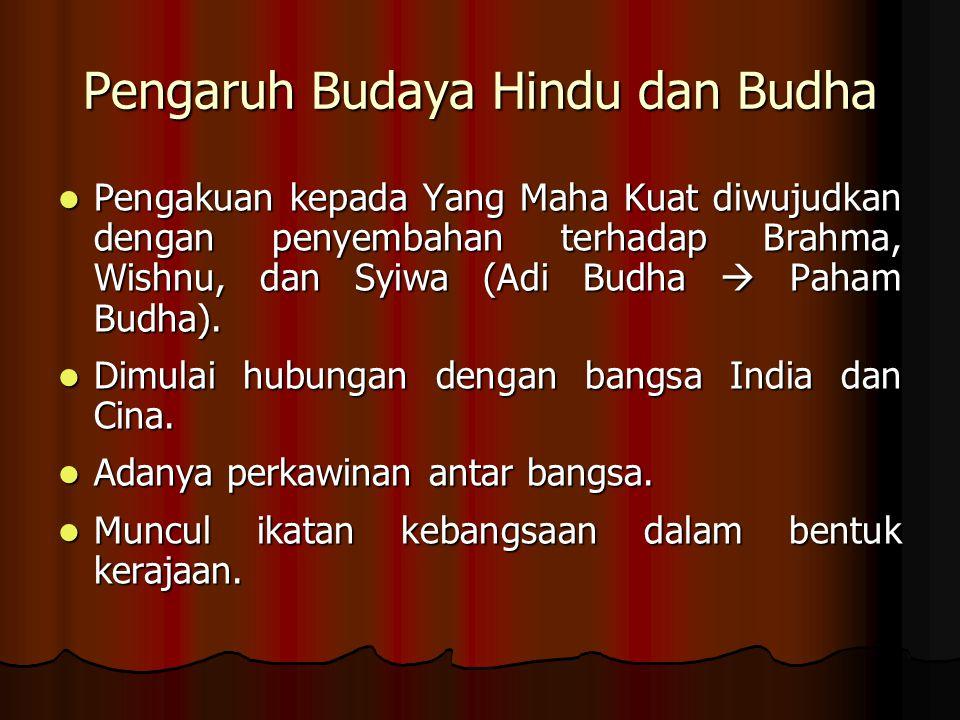 Pengaruh Budaya Hindu dan Budha