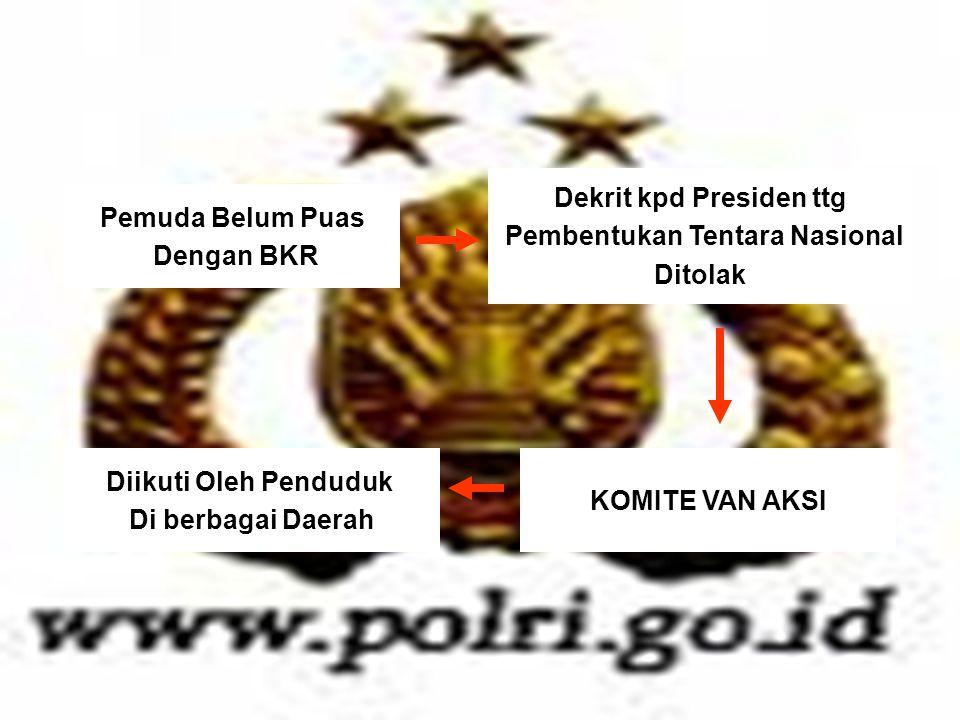 Dekrit kpd Presiden ttg Pembentukan Tentara Nasional