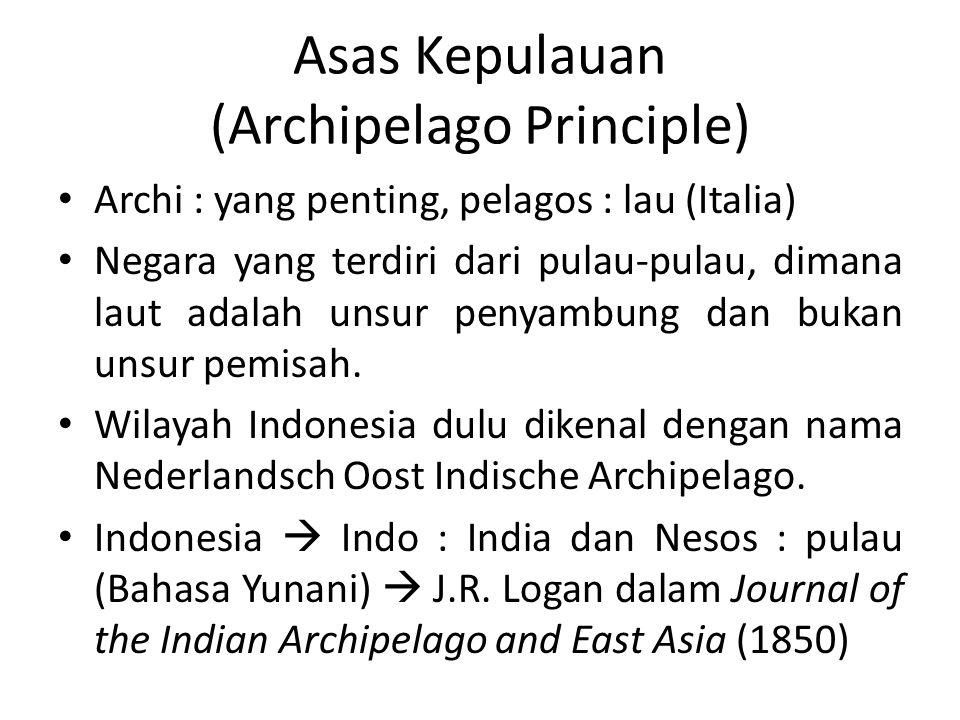 Asas Kepulauan (Archipelago Principle)