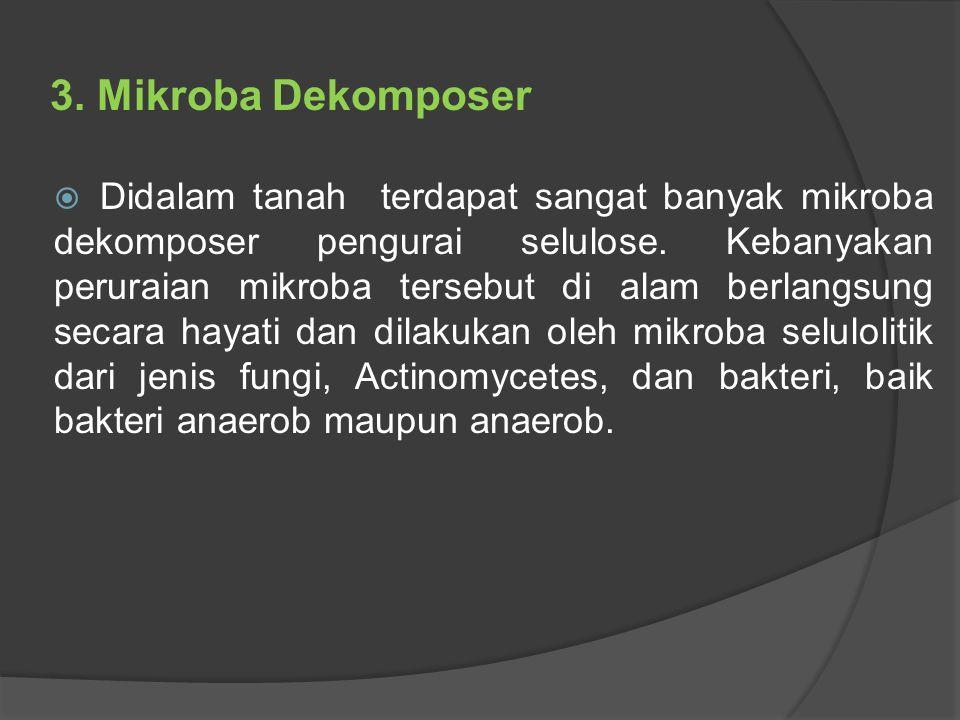 3. Mikroba Dekomposer