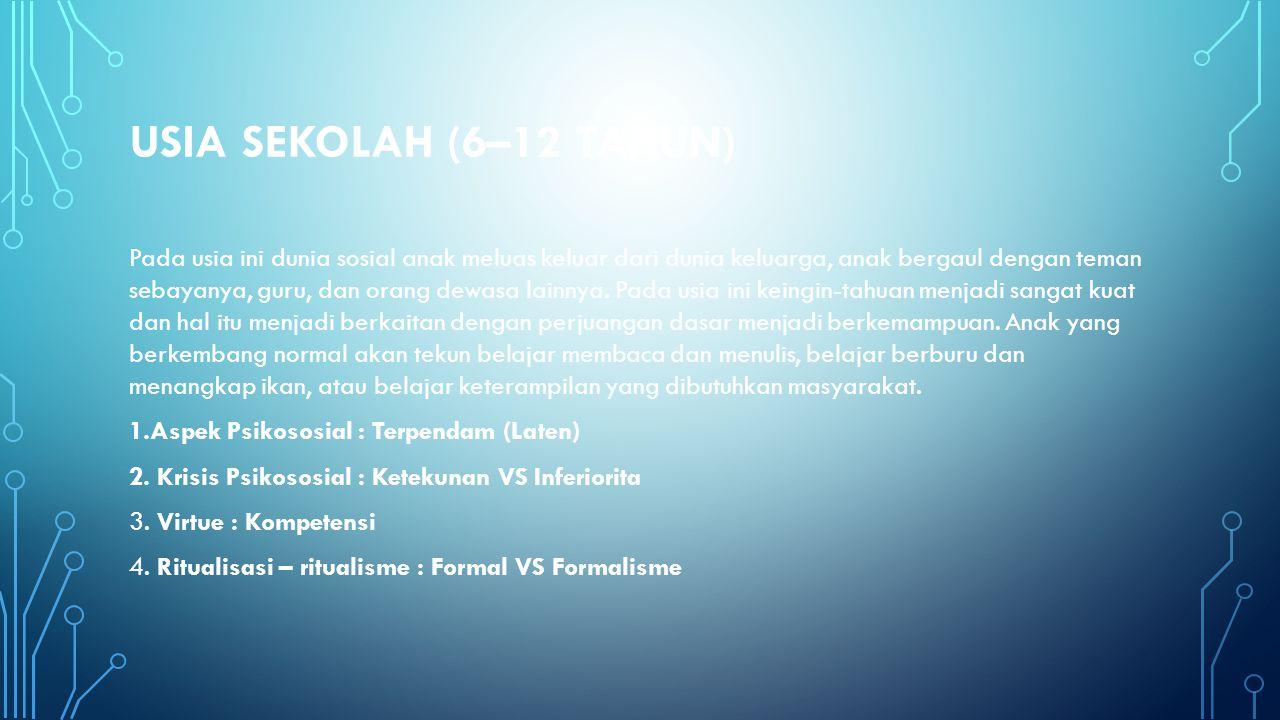 USIA SEKOLAH (6–12 TAHUN)