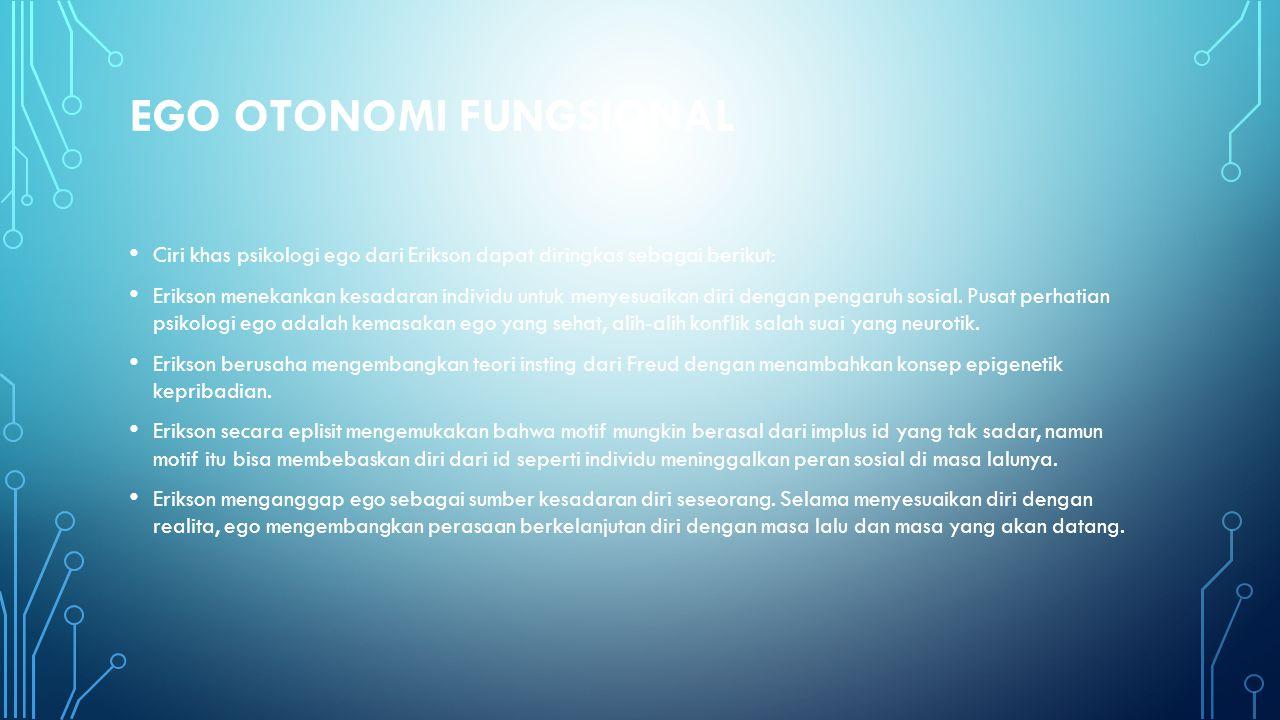 Ego Otonomi Fungsional