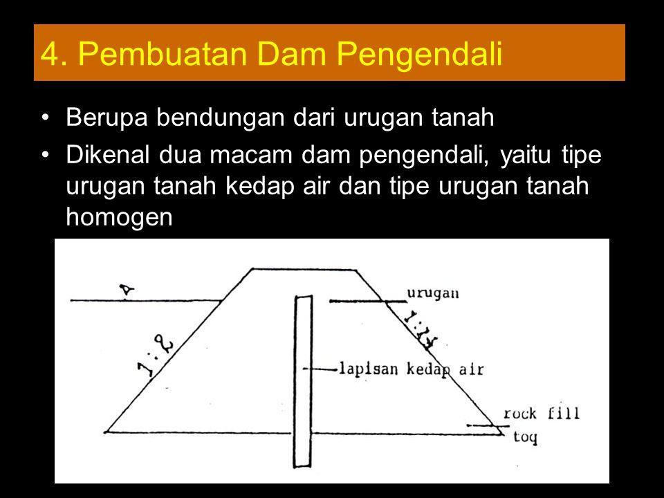 4. Pembuatan Dam Pengendali