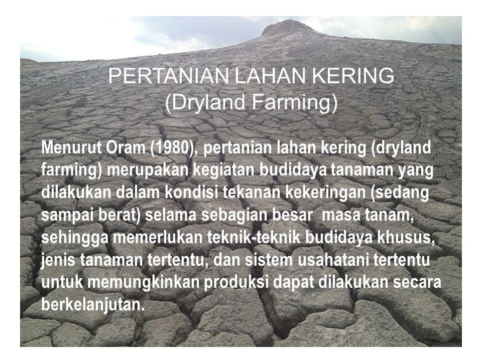 PERTANIAN LAHAN KERING