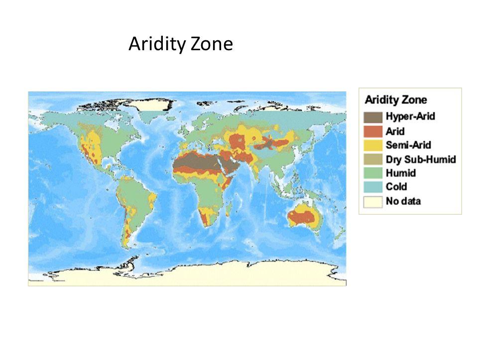 Aridity Zone