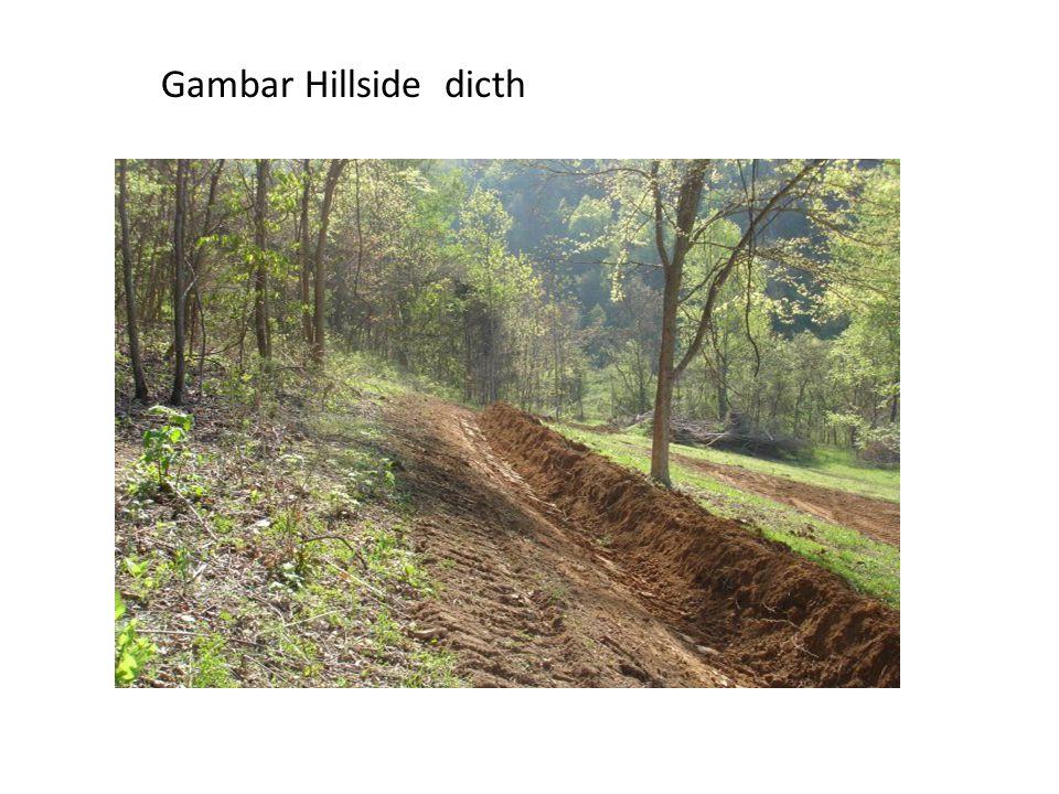 Gambar Hillside dicth