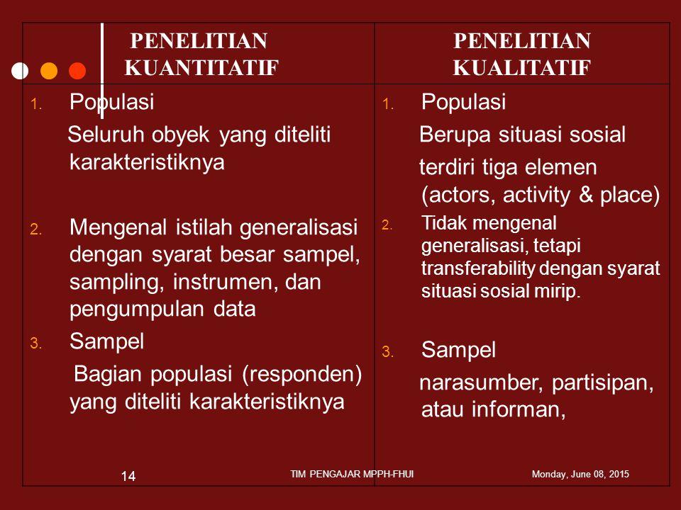 TIM PENGAJAR MPPH-FHUI