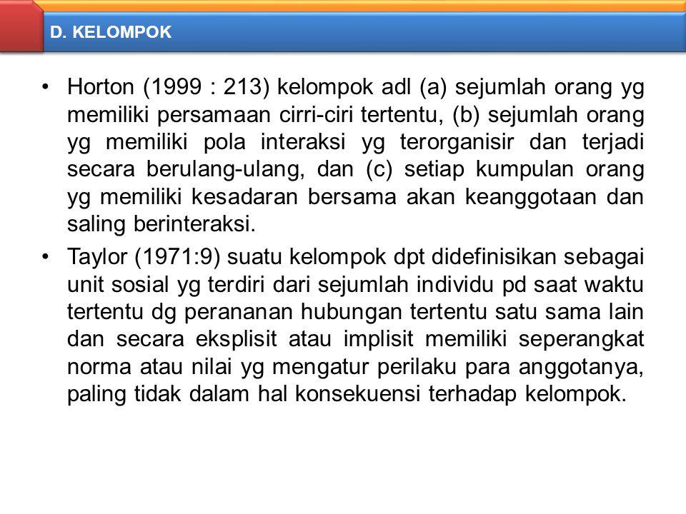 D. KELOMPOK