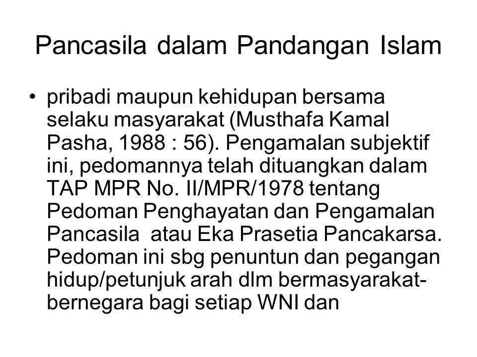Pancasila dalam Pandangan Islam
