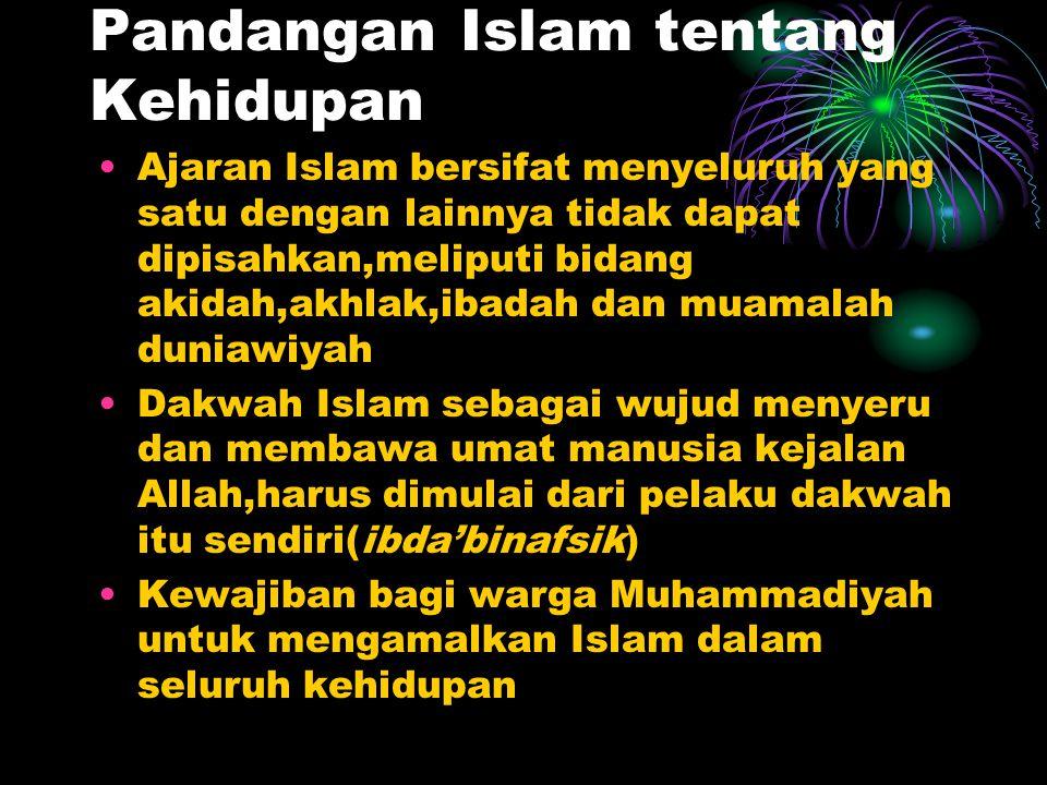 Pandangan Islam tentang Kehidupan