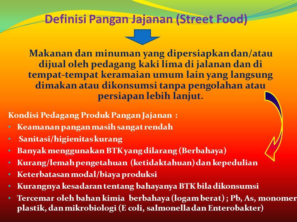Definisi Pangan Jajanan (Street Food)