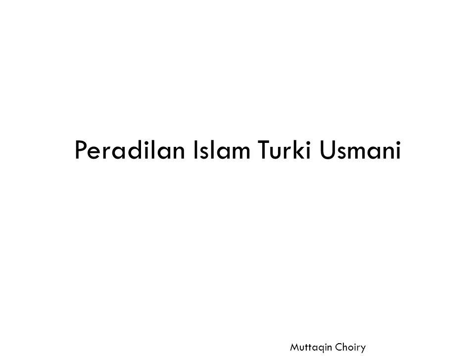 Peradilan Islam Turki Usmani
