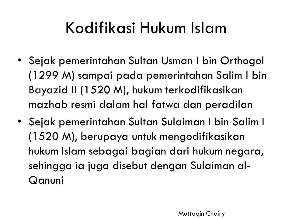 Kodifikasi Hukum Islam