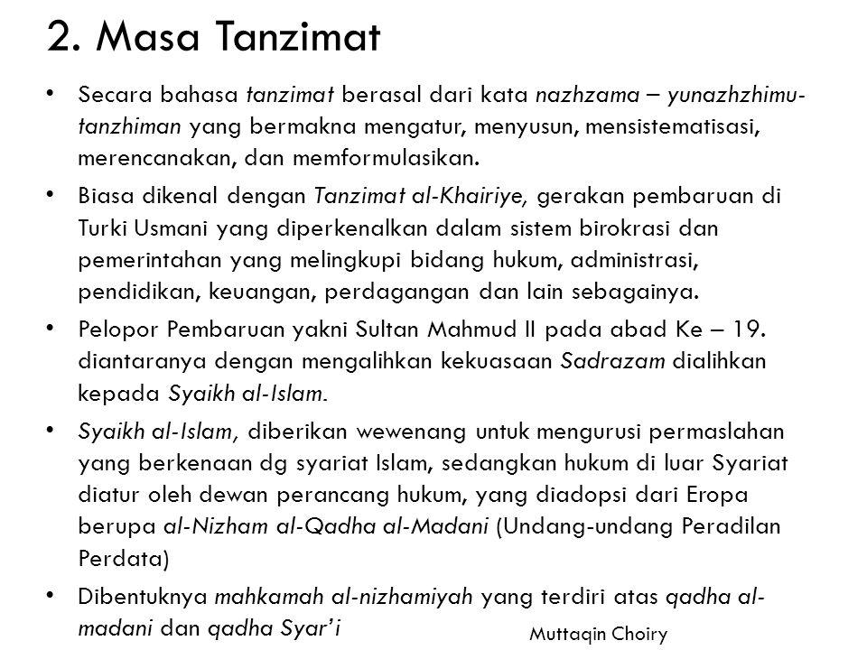 2. Masa Tanzimat