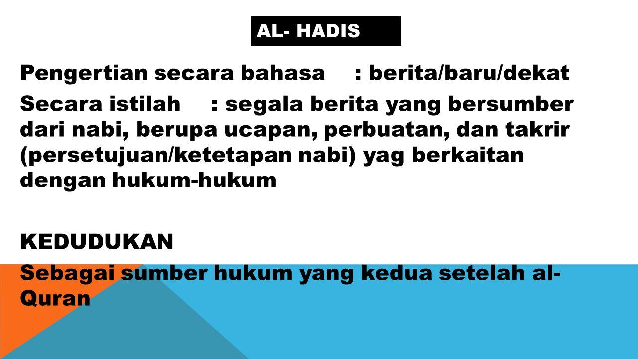 Al- hadis