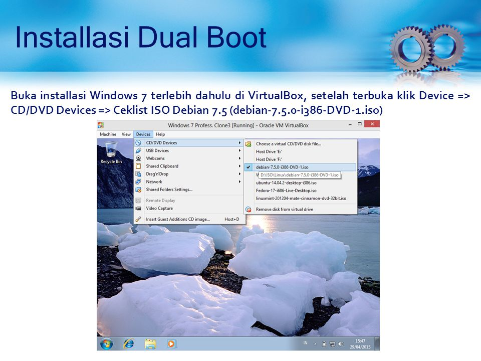 Installasi Dual Boot
