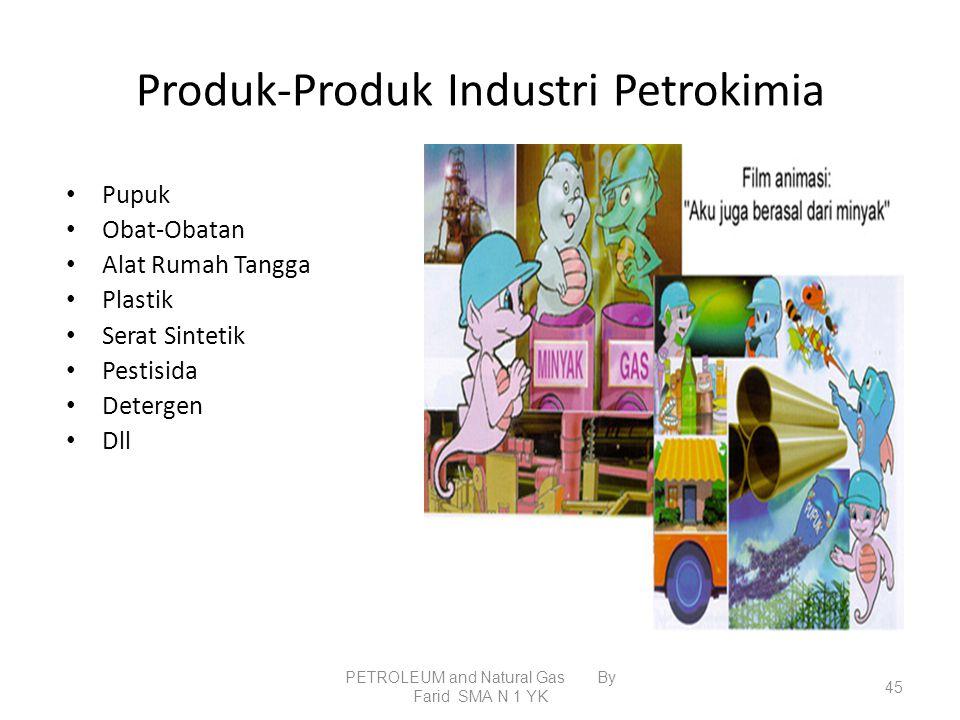 Produk-Produk Industri Petrokimia