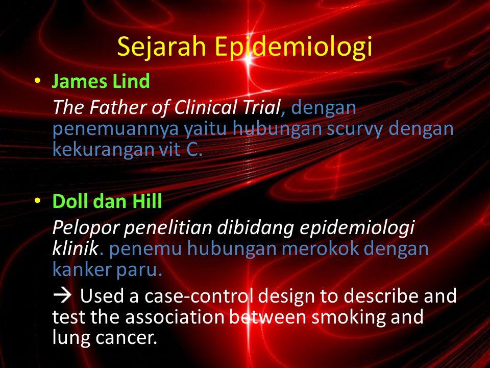 Sejarah Epidemiologi James Lind