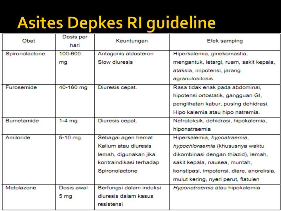 Asites Depkes RI guideline