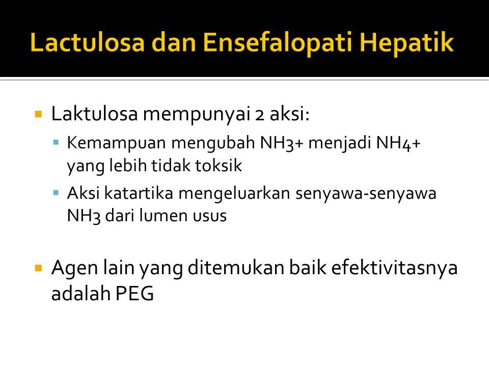 Lactulosa dan Ensefalopati Hepatik