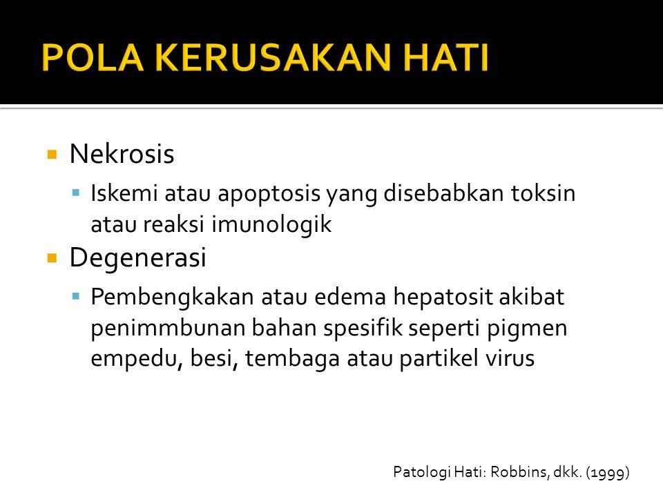 Patologi Hati: Robbins, dkk. (1999)