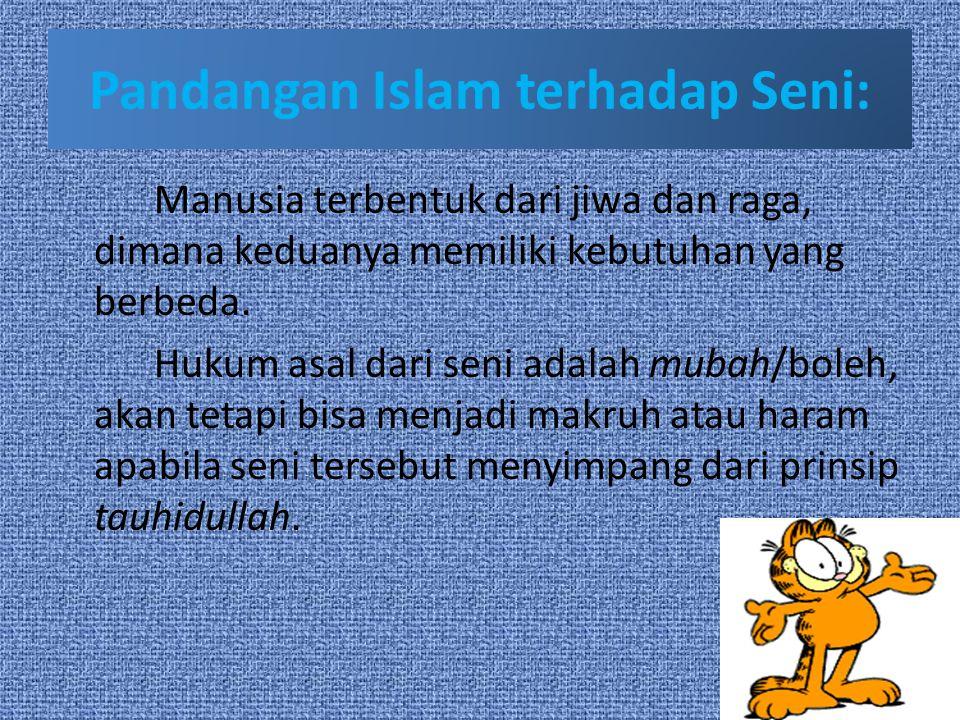 Pandangan Islam terhadap Seni: